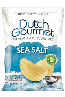Old Dutch Gourmet Sea Salt Thick Cut Premium Potato Chips