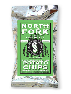 North Fork Sour Cream & Onion Kettle Cooked Potato Chips