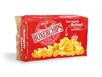 Boxerchips Savagely Salted Potato Chips