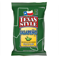 Bob's Texas Style Jalapeno Kettle Cooked Potato Chips
