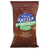 Wegmans Sweet Barbecue Reduced fat Kettle Chips