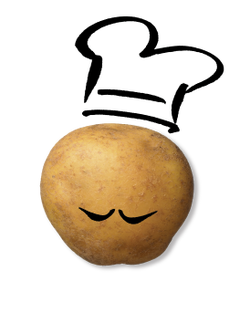 Darling Spuds Potato Character