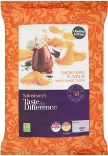 Sainsburys Taste the Difference BBQ Flavour