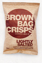 Brown Bag Crisps Lightly Salted Review