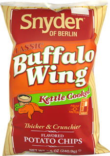 Snyder of Berlin Buffalo Wing Kettle Cooked Potato Chips