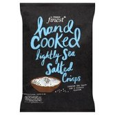 Tesco Finest Handcooked Lightly Sea Salted Crisps