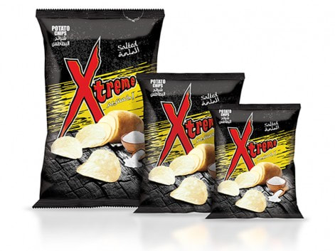 Notions Group XL Xtreme Salt Potato Chips Salt & Vinegar