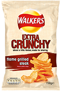 Walkers Extra Crunchy Flame Grilled Steak Crisps Review