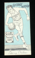 Scott's Potato Chips 1950s Basketball Collecors Cards