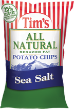 Tim's All Natural Reduced Fat Sea Salt Potato Chips