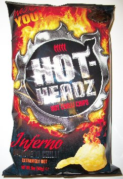Hot Headz Inferno Potato Chips