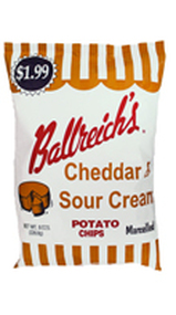 Ballreichs Cheddar & Sour Cream Marcelled Potato Chips