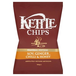 Kettle Chips Soy, Ginger, Chilli & Honey Crisps Review