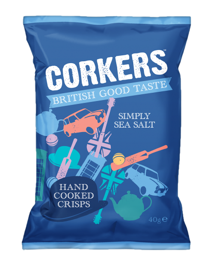 Corkers Simply Sea Salted Hand Cooked Crisps Review