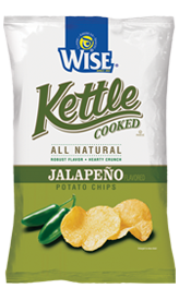 Wise Jalapeno Kettle Cooked Potato Chips