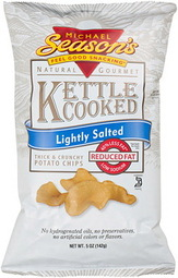 Michael Season's Lightly Salted Kettle Cooked Potato Chips
