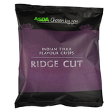 Asda Indian Tikka Ridge Cut Crisps