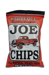 Joe Tea Joe Chips Barbeque Kettle Chips