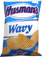 Husman's Wavy Potato Chips