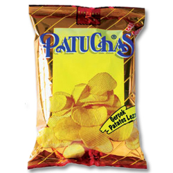 Gesa Foods Patuchas Wavy Natural Potato Chips