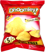 Dhoomley Potato Chips Tomato Masti