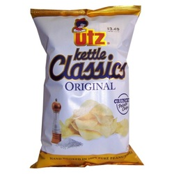 Utz Kettle Classics Original Flavor Potato Chips