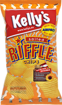 Kelly's Potato Chips Riffle Salted