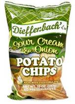 Dieffenbach's Sour Cream & Onion Potato Chips