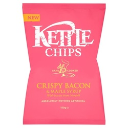 Kettle Chips Crispy Bacon & Maple Syrup Crisps Review