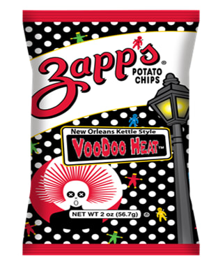 Zapp's Voodoo Heat Kettle Cooked Chips Review