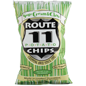 Route 11 Sour Cream & Chive Potato Chips