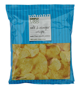 Marks & Spencer Potato Crisps Simply Salt & Vinegar