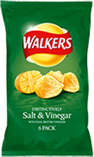 Walkers Salt and Vinegar flavour