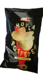 Hoff Hovla Potter Potato Chips Norway