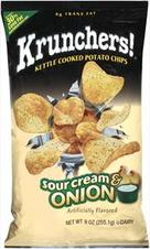 Krunchers! Sour Cream & Onion Kettle Cooked Potato Chips