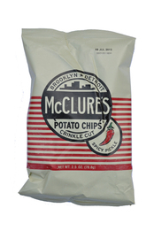 McClure's Pickles Spicy Pickle Crinkle Cut Potato Chips