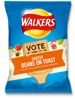 Walkers Cheesy Beans on Toast