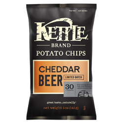 Kettle Chips Cheddar Beer