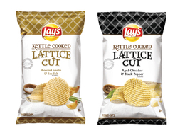 Lays Kettle Cooked Lattice Cut Potato Chips