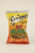 Grippo's Hot Dill Pickle Potato Chips