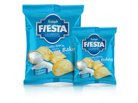 Notions Group Fiesta Crisps Salted Potato Snacks