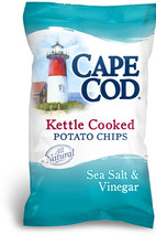 Cape Cod Sea Salt & Vinegar Kettle Cooked Potato Chips