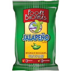 Poore Brothers Jalapeno Kettle Cooked Potato Chips