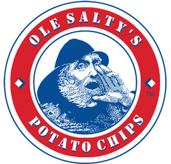 Ole Salty's Potato Chips Logo