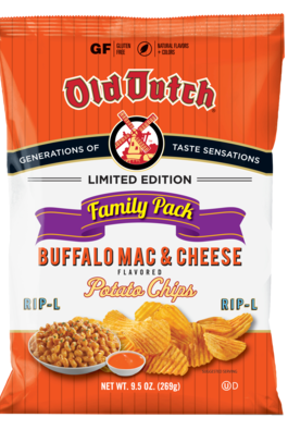 Old Dutch Mac and Cheese Chips