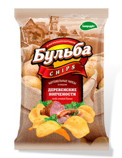 Bulba Chips Smoked Meat