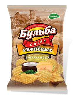 Bulba Chips Sour Cream Cheese