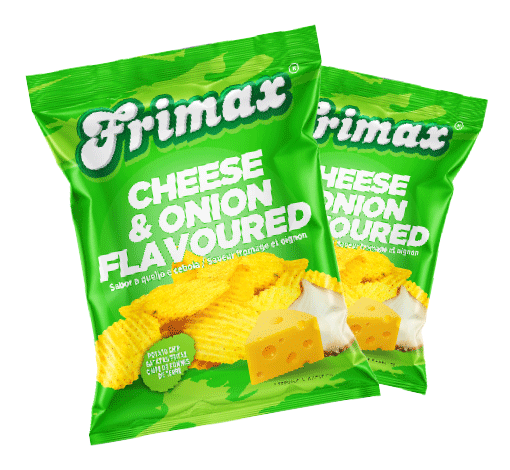 Frimax Potato Chips Cheese Onion