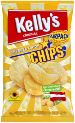 Kelly's Potato Chips Cheese Onion