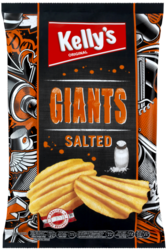 Kelly's Chips Giants Salted